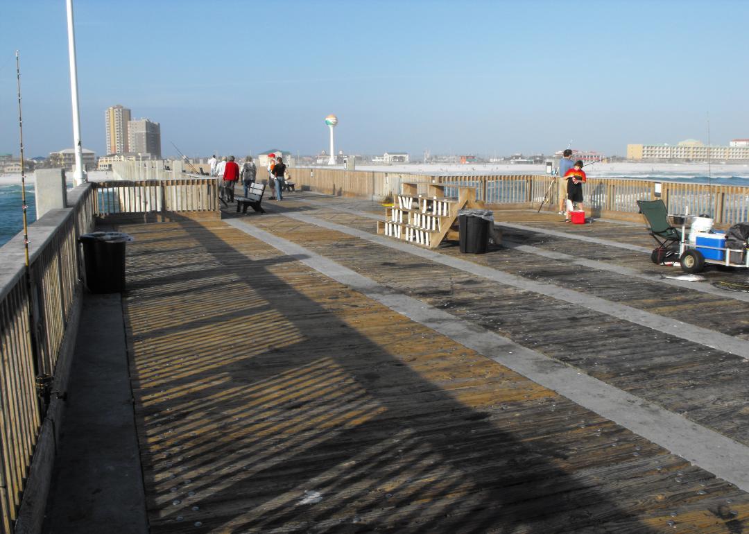 Pier pensacolapier for Destin fishing pier