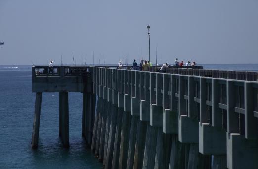 M b miller county pier panama city florida for Panama city fishing pier