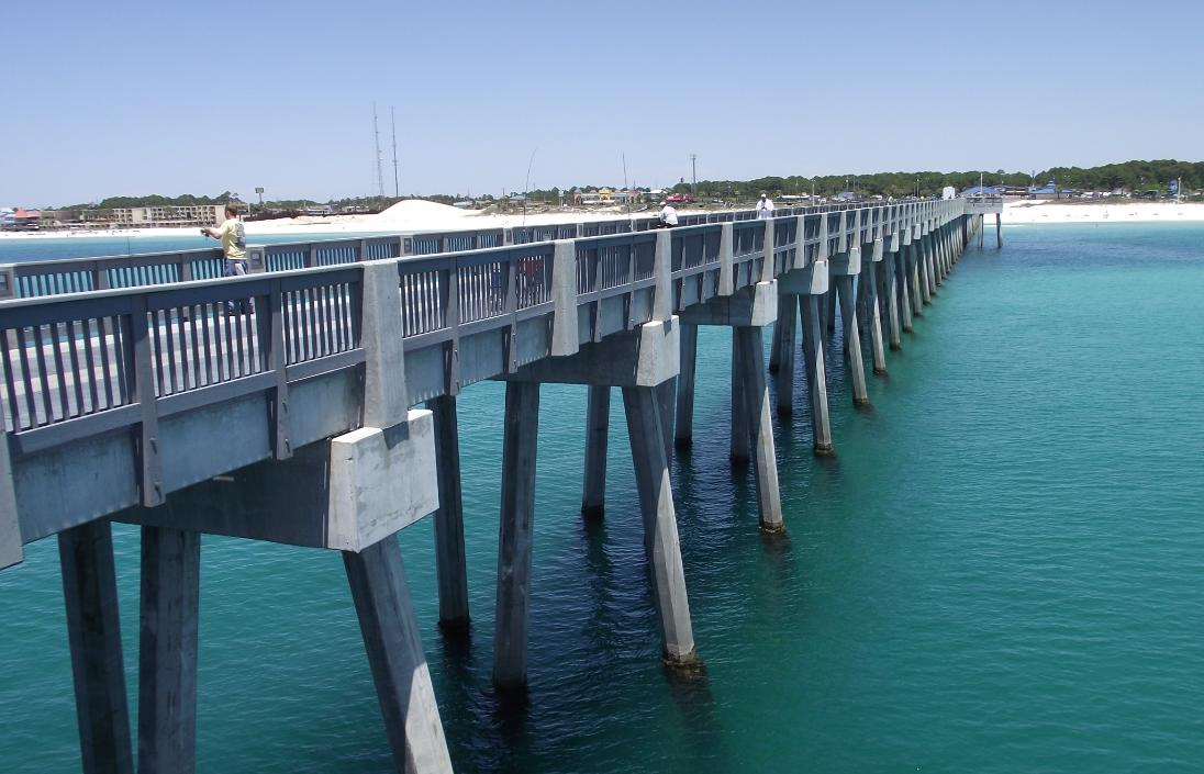 County Pier In Panama City Beach