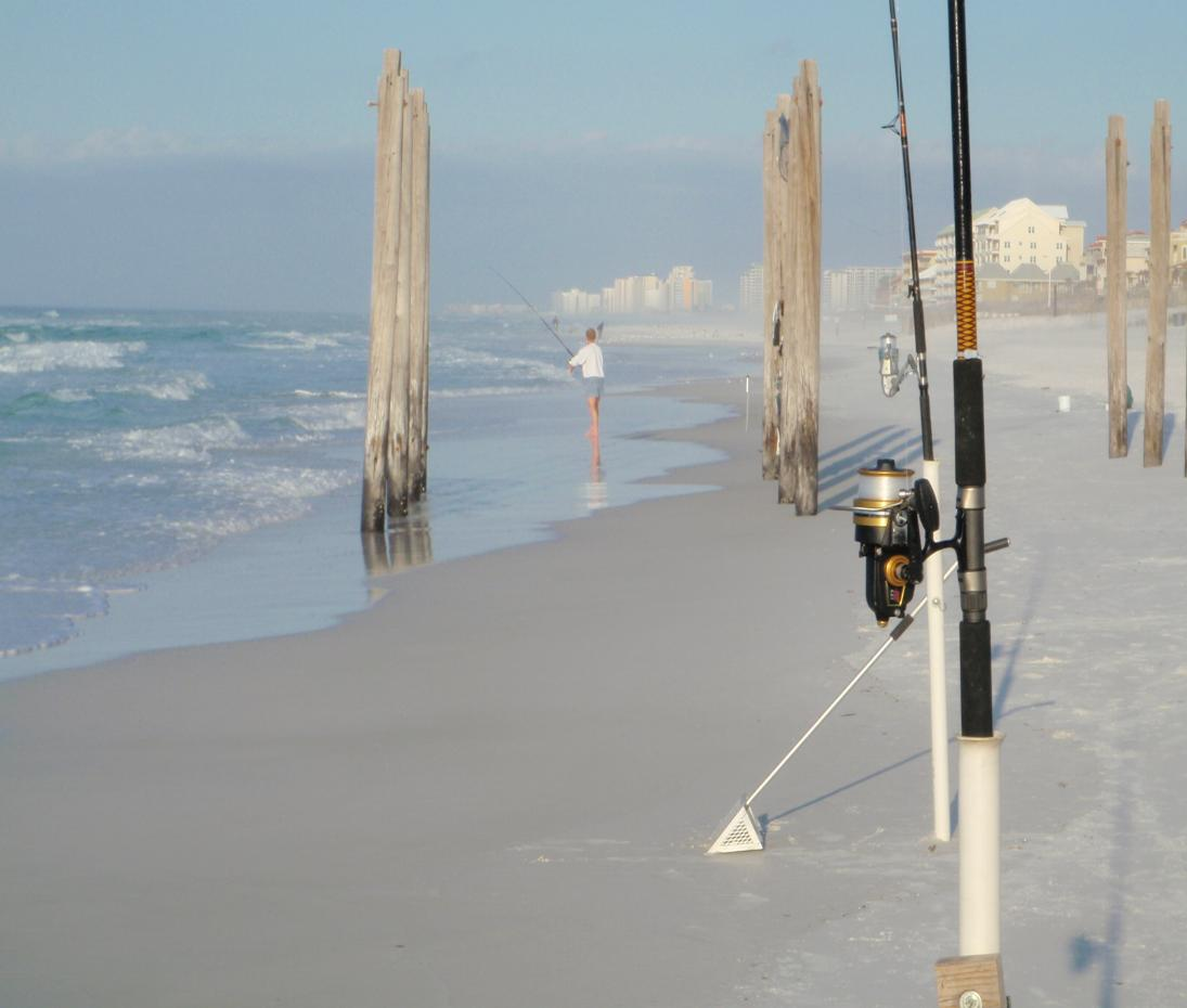How To Make A Sand Spike For Surf Fishing