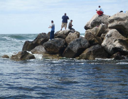 Destin east pass jetty fishing for Destin fl fishing