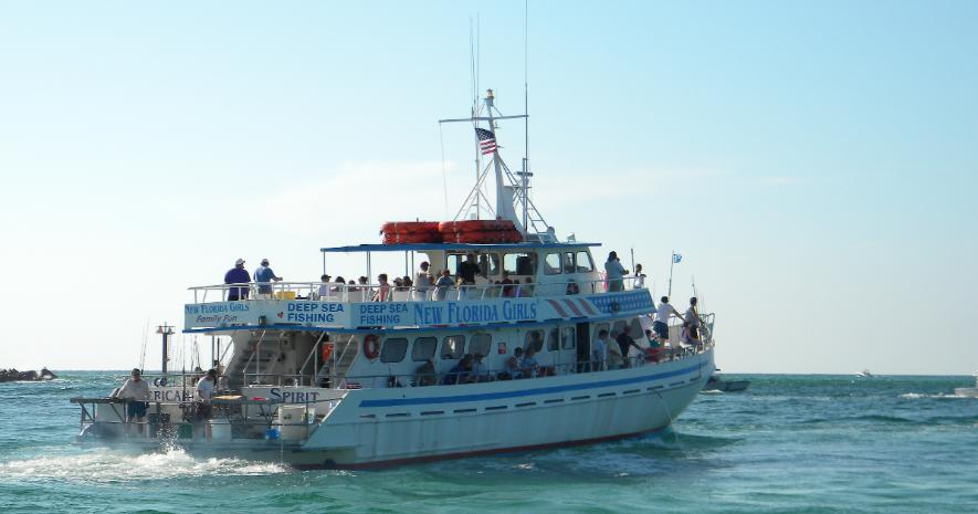 Destin party boats for Party boat fishing florida