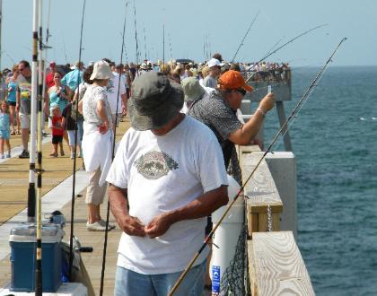 Navarre beach pier for Destin fishing guides