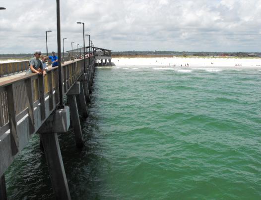 Pier gulfstateparkpier for Destin fishing pier