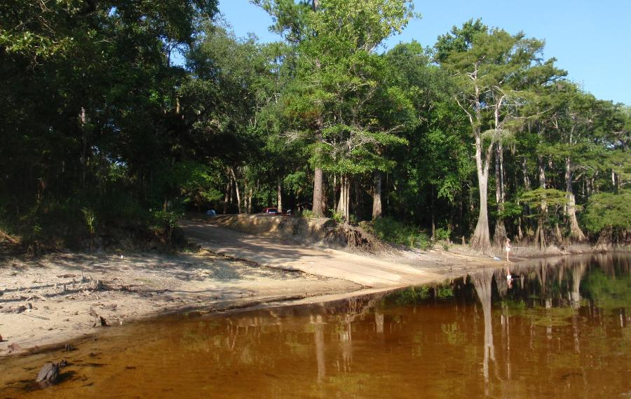 choctawhatchee river boat ramps west bank