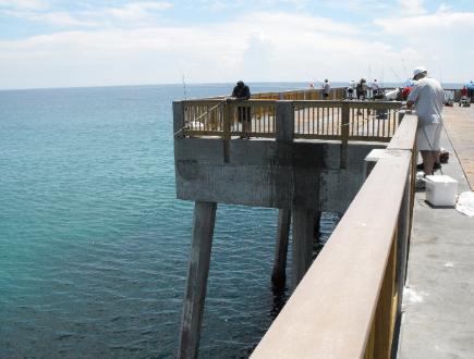 Dan russell city pier for Panama city beach fishing pier