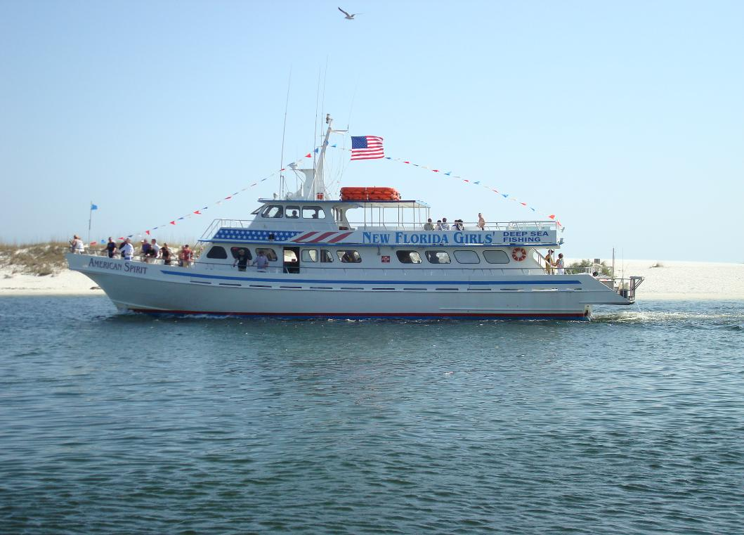 Charterboats partyboats for Party boat fishing destin fl