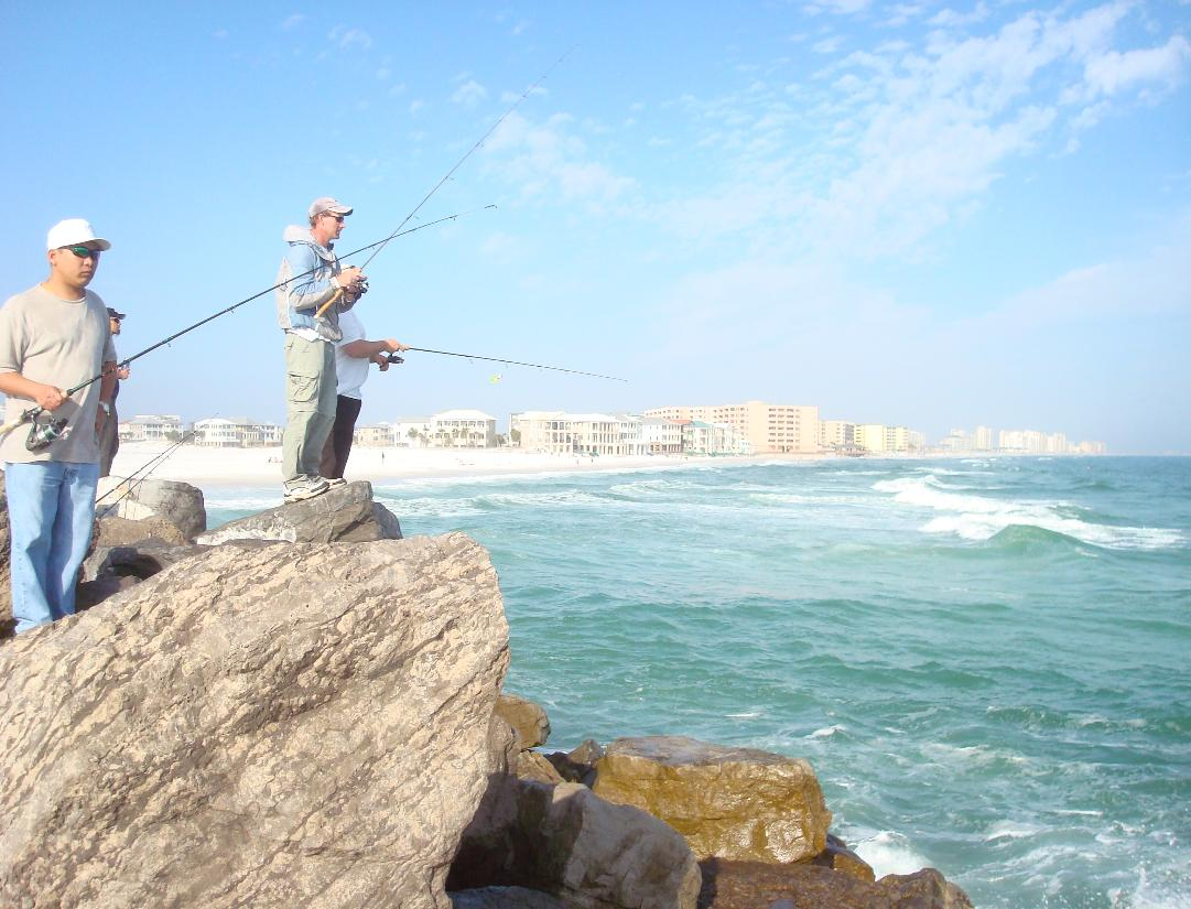Fishing destin guide for catching pompano for Jetty fishing rigs