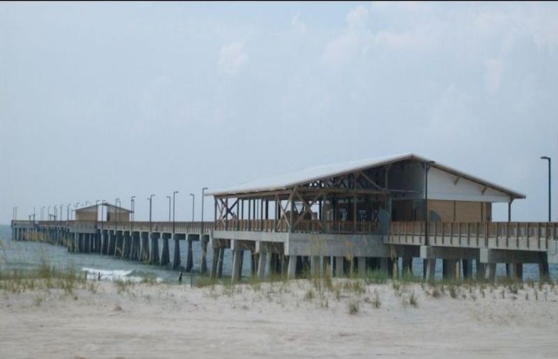 Pier gulfstateparkpier for Pier fishing gulf shores al