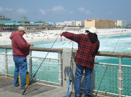 Fishing destin guide for catching pompano for Destin florida fishing pier