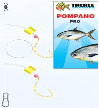 how to make a pompano rig